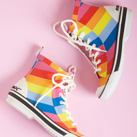 Second Prances Rain Boot in Rainbow