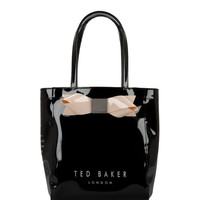 TINICON - Small bow shopper bag - Black | Womens | Ted Baker UK