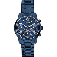 Guess Blue IP Multifunction Watch
