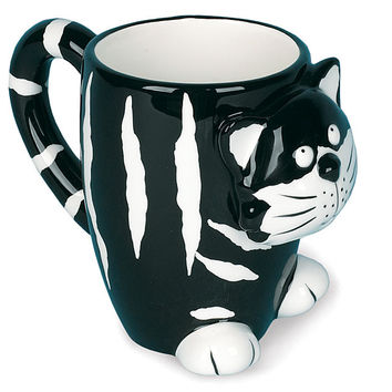 Burton & Burton Chester the Cat Coffee Mug