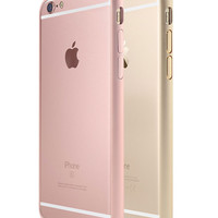 Pink Metal Case For Apple and iPhone 6