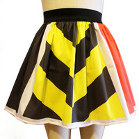 Queen of Hearts Full Skirt by GoFollowRabbits on Etsy
