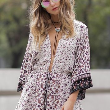 Tennessee Floral Romper