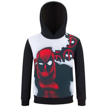 Deadpool Dead pool Taco Super Hero  Baby Boys Hoodies Superhero Kids Sweatshirt Children Jacket for A girl Moleton Menino Vetement Enfant Fille AT_70_6