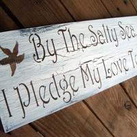 Beach Wedding sign Destination wedding
