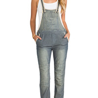 Free People Thomas Overall in Navy