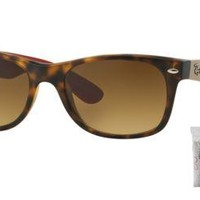 Cheap Ray Ban RB2132 618185 55M Matte Havana/Brown Gradient Dark Brown outlet