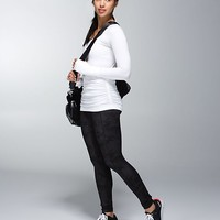 Run: Swiftly Tech Long Sleeve Scoop *Ruched