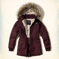 Hollister All-Weather Parka Jacket