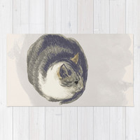 Fat Cat Rug by anipani