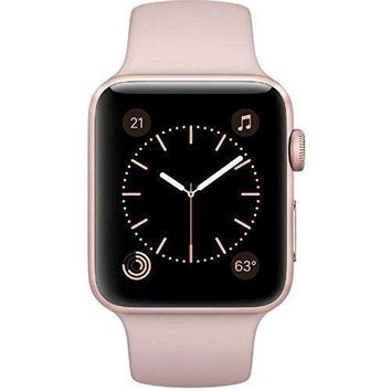 Apple Watch Series 2 42mm Smartwatch - Rose Gold/Pink Sand