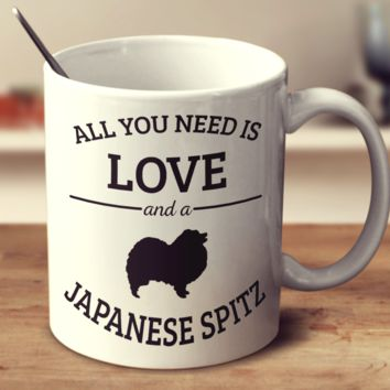 All You Need Is Love And A Japanese Spitz