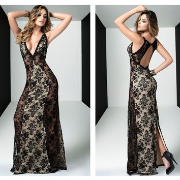 4454 Long Gown