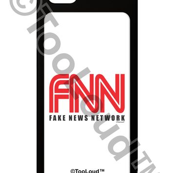 Fake News Network Funny iPhone 5 / 5S Grip Case  by TooLoud