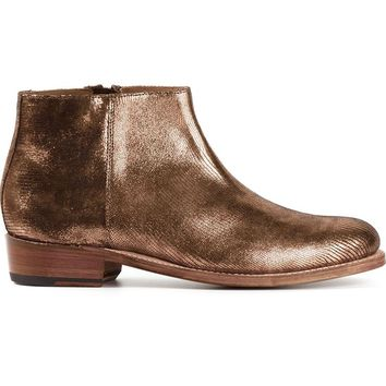 Grenson side zip ankle boots