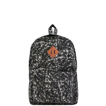 CREY78W Black Acid Wash Backpack