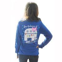 Fashionable women's Elephant Printed sports Hoodies Long sleeve round Necked Alphabets Words T-Shirt d096