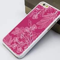 girl's iphone 6 case,pink floral iphone 6 plus case,art floral iphone 5s case,pink flower iphone 5c case,flower pattern iphone 5 case,art design iphone 4s case,personalized iphone 4 case