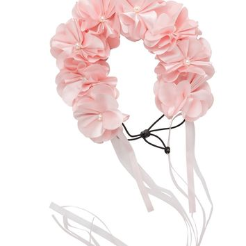 Project 6 NY Baby Pink Floral Wreath