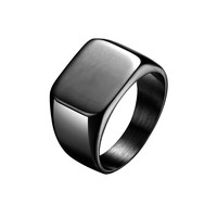 Mister Signet Ring - Black
