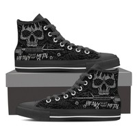 Heavy Metal High Top Shoes