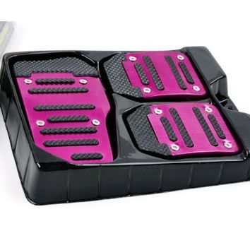 E-PRANCE New Arrival Car Prevent Slippery Foot Pedals For Throttle Clutch Brake Pedal (Pink):Amazon:Automotive