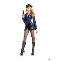 "Be Wicked BW1096 8 piece ""Flip the Badge"" Costume"