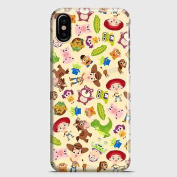 Disney Toy Story Pattern iPhone X Case | casescraft
