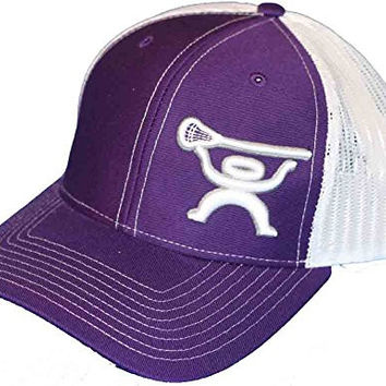 HUKi Lacrosse Women's Signature Hat, Purple Adjustable Snapback