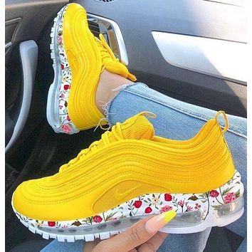 Nike Air Max 97 Print Flower Sneakers