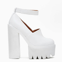 Jeffrey Campbell Scully in White