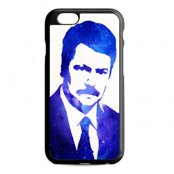 Ron Swanson on Galaxy For iphone 6s case