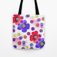 Floret Tote Bag by Kathleen Sartoris
