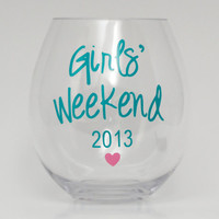 Personalized Wine Glasses Acrylic Cups