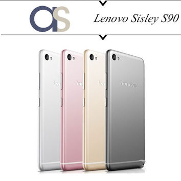 Original New Lenovo Sisley S90 cell phones Android 4.4.4 Quad Core MSM8916 1.2Ghz 16G ROM 5.0'' 720*1280P Supper AMOLED 13.0MP