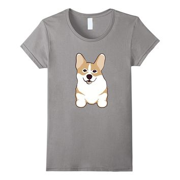 Corgi Dog Owner T-Shirt Cute FRONT & BACK PRINT Funny Gift