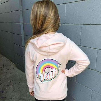 Yeah Girls Zip Up Hoodie