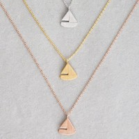 Sailboat necklace-BA
