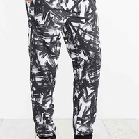 Paint Brush Jogger Pant- Black Multi