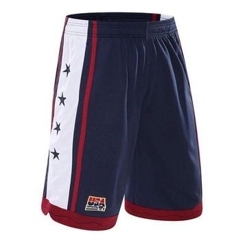 VONEML3 2017 USA the U.S. dream team basketball shorts Running shorts Three color basketball shorts beach shorts in summer