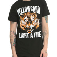 Yellowcard Light A Fire T-Shirt