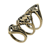 Aztec Armour Ring - Jewelry  - Accessories