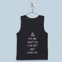 Men's Basic Tank Top - Fall Out Boy Quote