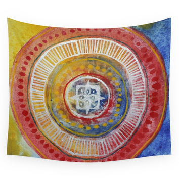 Society6 Sun-pattern2 Wall Tapestry