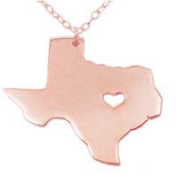 Texas Pendant Necklace