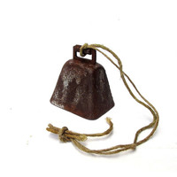 Vintage bell. Rusty decor. Rusty metal. Metal bell. Antique bell. Hanging bell. Porch decoration. Iron bell. Farm bell. Rusty iron bell.