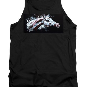 Abstract Horse - Tank Top