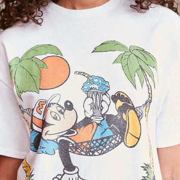 Junk Food Mickey Summer Daze Tee - Urban Outfitters