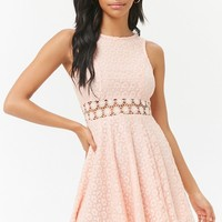 Lace Fit & Flare Dress