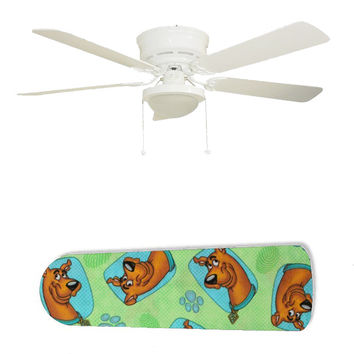 "Scooby Dooby Doo 52"" Ceiling Fan and Lamp"